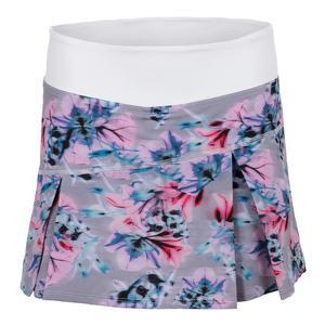 Women`s Topspin Tennis Skort Xray Floral