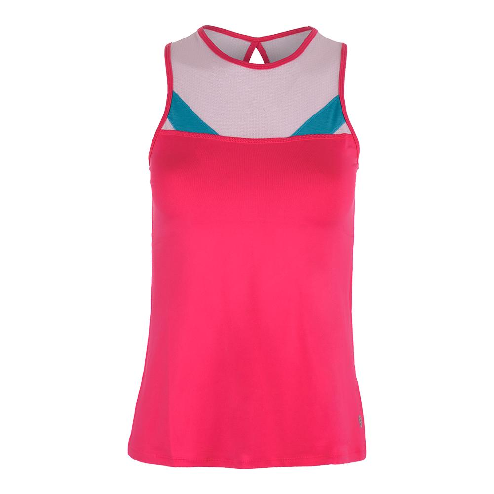 Women's Circuit Tennis Tank Azalea And Light Pink