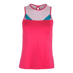 Women`s Circuit Tennis Tank Azalea and Light Pink