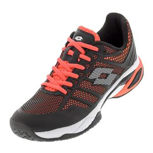 Men`s Viper Ultra IV Speed Tennis Shoes Orange Bright and White
