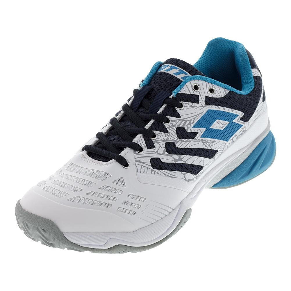 Men's Ultrasphere All- Round Tennis Shoes White And Blue Ego