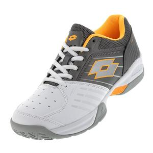 Men`s T-Tour 600 X Tennis Shoes White and Titanium Gray