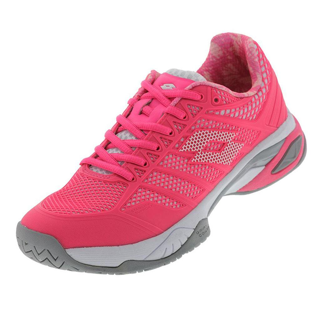 Women's Viper Ultra Iv Tennis Shoes Pink Fluo And White