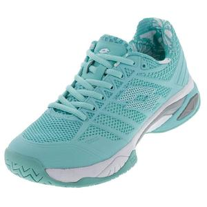 Women`s Viper Ultra IV Tennis Shoes Green Thai and White