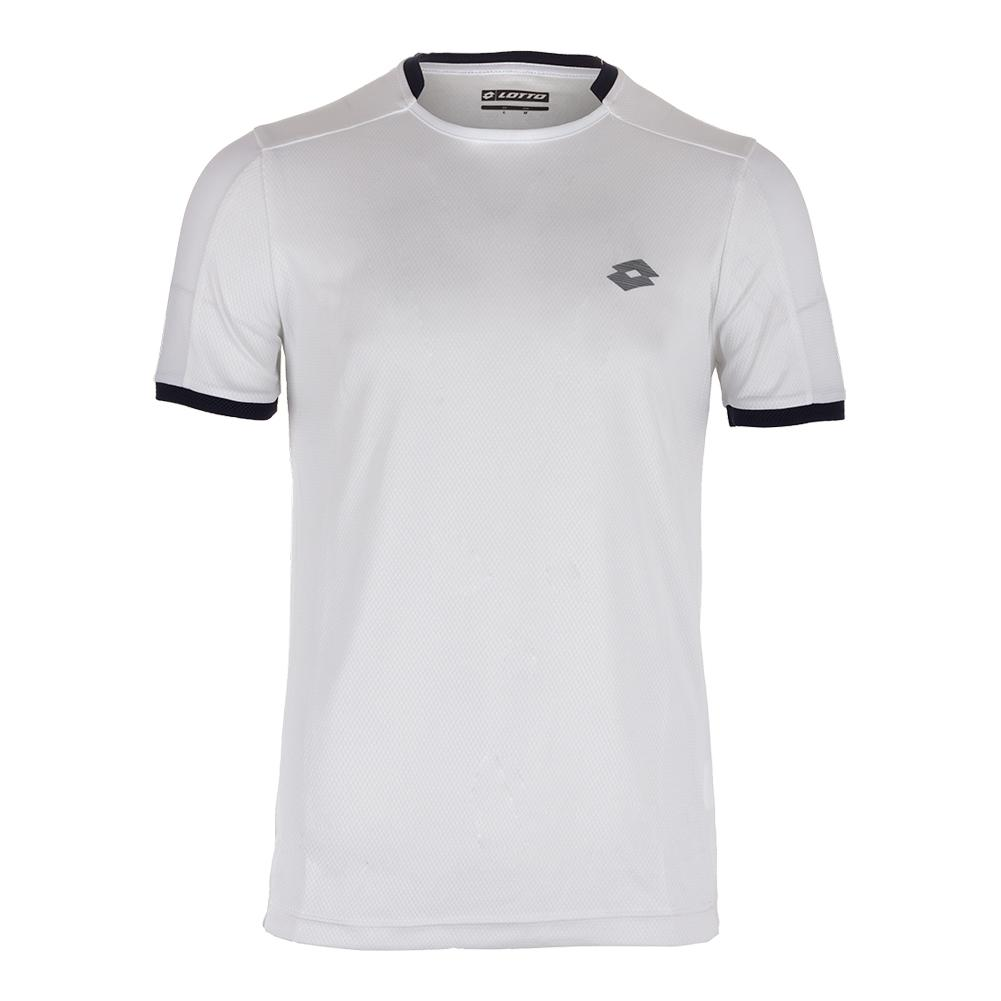 Men's Dragon Tech Ii Tennis Tee White And College Blue
