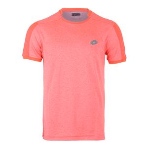 Men`s Dragon Tech II Tennis Tee Orange Mel Bright