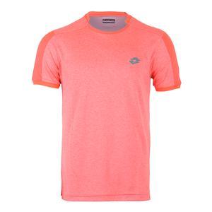 Men`s Dragon Tech II Tennis Tee Orange Mel Bright