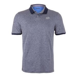 Men`s Dragon Tech II Tennis Polo Mel Blue College