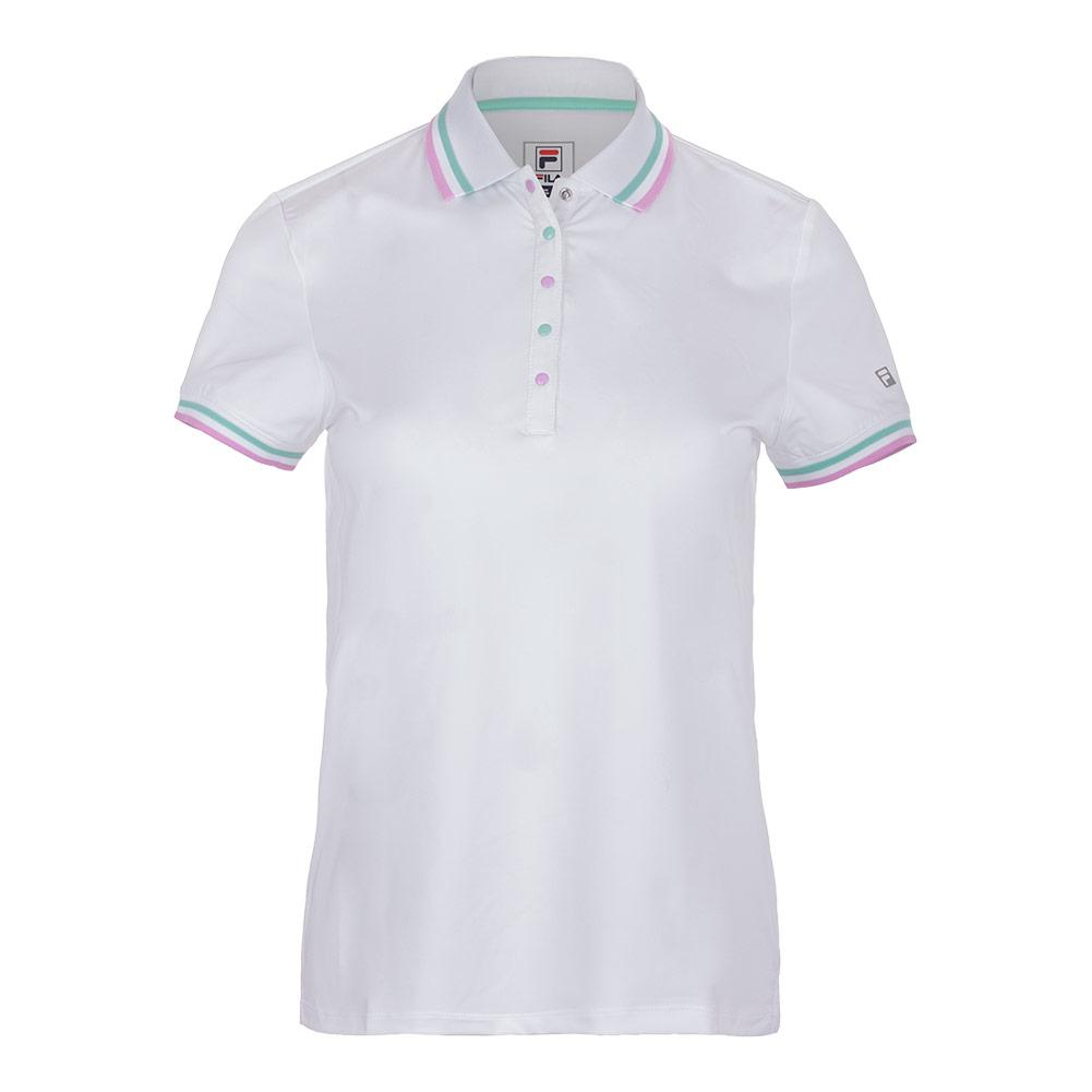59d90177 Fila Women's Elite Tennis Polo in White