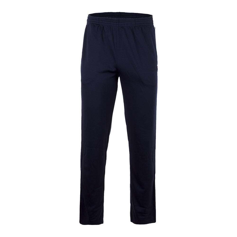 Men's Heritage Tennis Pant Navy And White