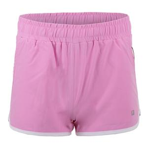 Women`s Woven Practice Tennis Short Lilac Chiffon