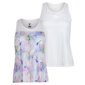 Women`s Elite Pleated Back Tennis Tank
