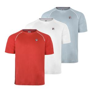 Men`s Heritge Piped Raglan Tennis Crew