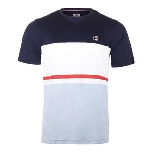 Men`s Heritage Color Block Tennis Crew