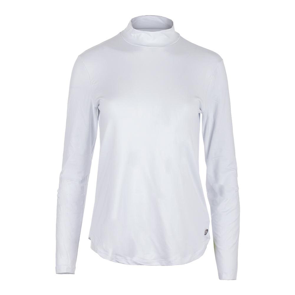 Women's Pro Tennis Top White