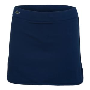 Women`s Tech Drawstring Tennis Skirt Marino