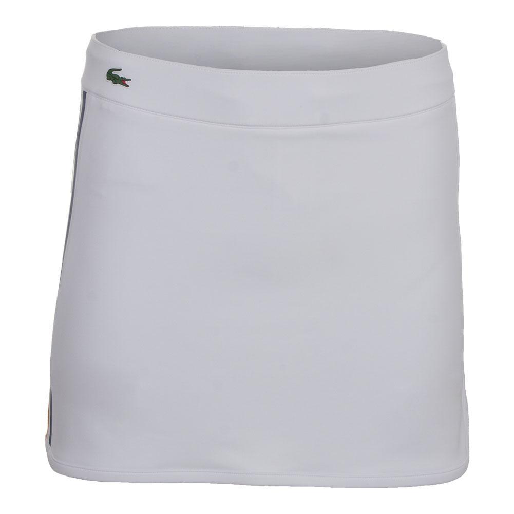 Women's Tech Drawstring Tennis Skirt White