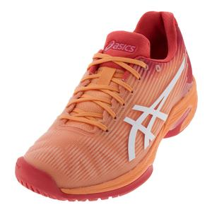Women`s Solution Speed FF Tennis Shoes Mojave and White