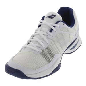 Men`s Jet Mach 1 All Court Wimbledon Tennis Shoes White