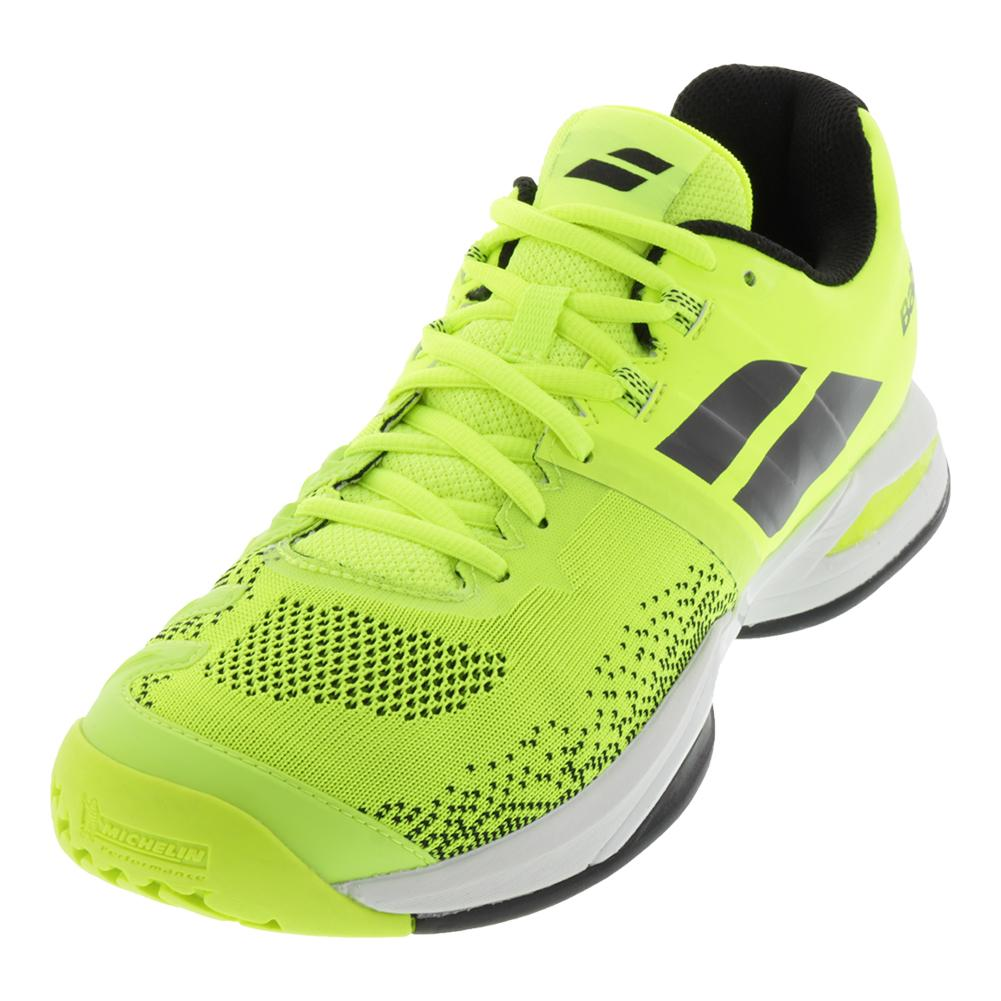 Men's Propulse Blast Tennis Shoes Fluo Yellow And Black