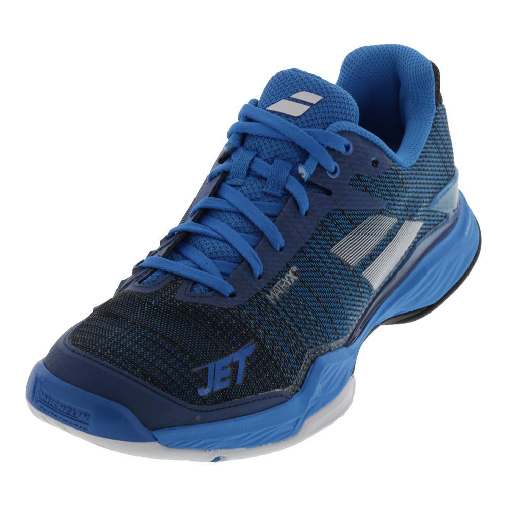 Men's Jet Mach 2 All Court Tennis Shoes Diva Blue And Black