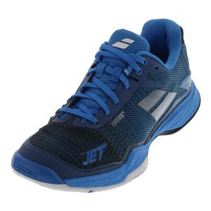 Men`s Jet Mach 2 All Court Tennis Shoes Diva Blue and Black