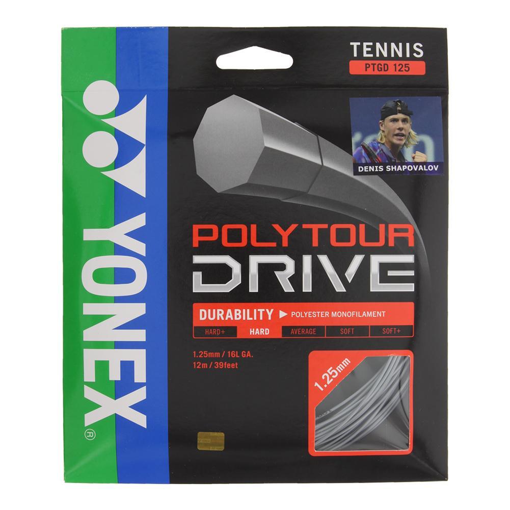 Poly Tour Drive 125/16l Tennis String Silver