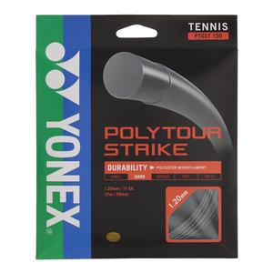 Poly Tour Strike Tennis String Iron Gray