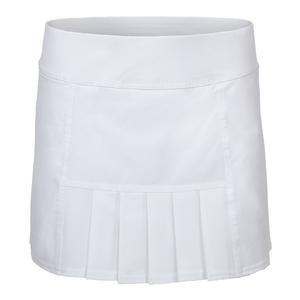 Women`s Dash 13.5 Inch Tennis Skort White