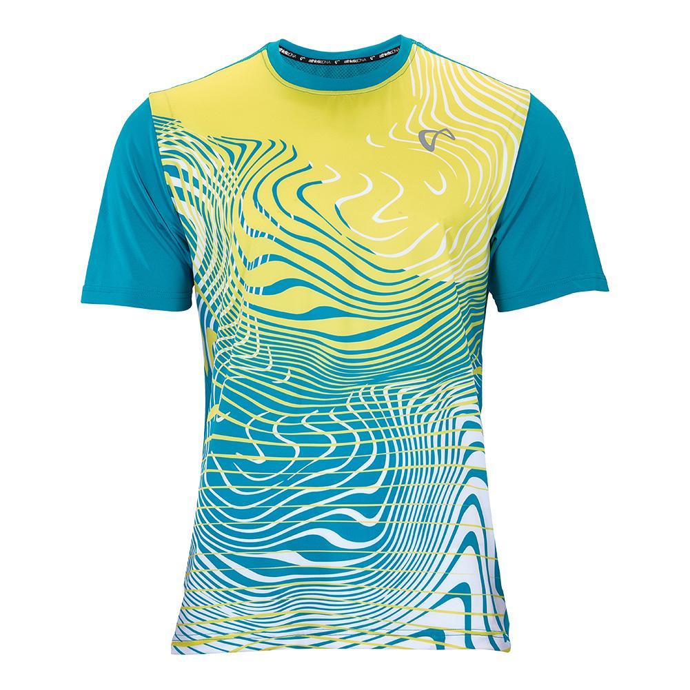 Men's The Sea Mesh Tennis Crew Caribbean