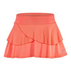 Girls` Tennis Skort Coral