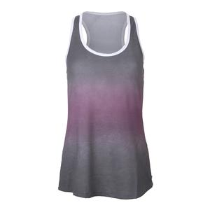 Women`s Tie Dye Tennis Tank Gray