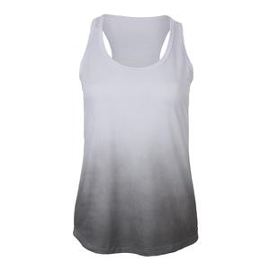 Women`s Serve Tennis Tank White and Gray