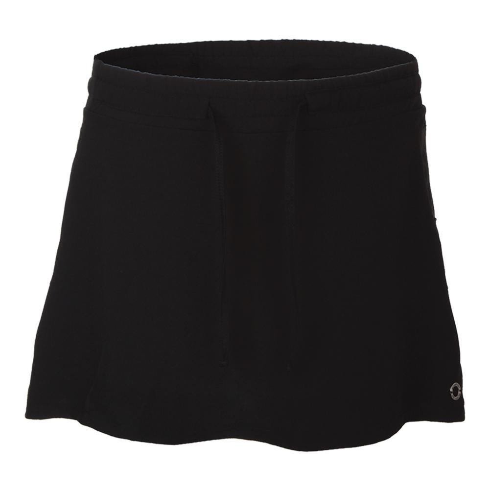 Women's Lucky Tennis Skirt Black