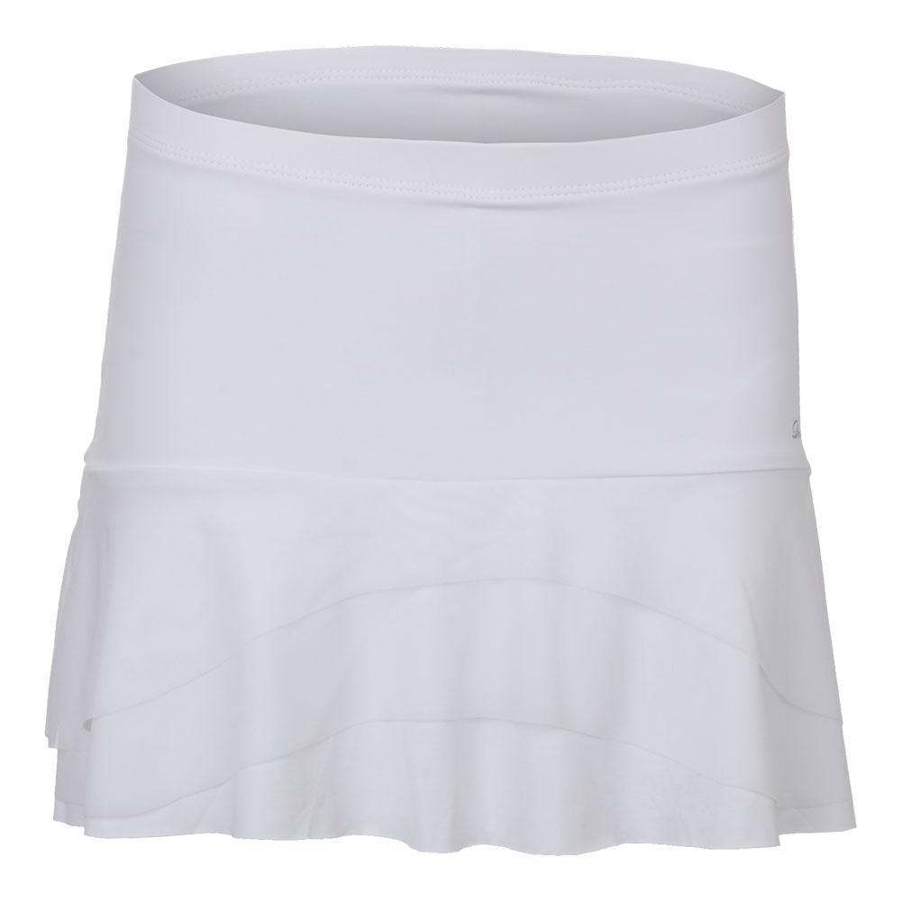 Women's Tier Tennis Skort Pure White