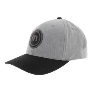 Men`s Circular Tennis Cap Heather Gray