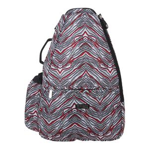 Women`s Tennis Backpack Sprint Print