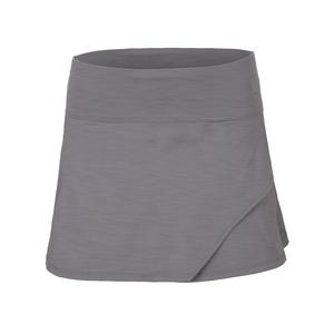 Women`s Fly 13 Inch Tennis Skort Frost Gray