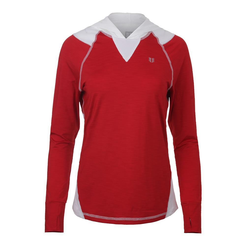 Women's Stardom Tennis Hoodie Tango Red