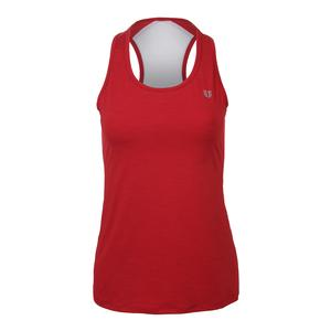 Women`s Vertical Tank Tango Red