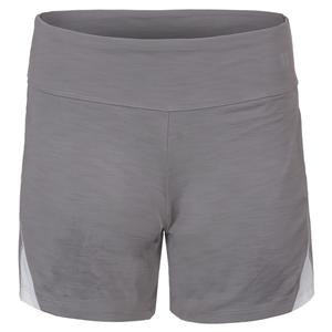 Women`s Rundown Tennis Short Frost Gray