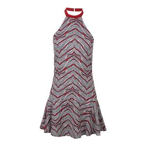 Women`s Incline Tennis Dress Sprint Print