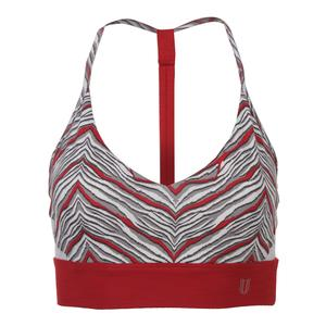 Women`s Upright Sport Bra Sprint Print