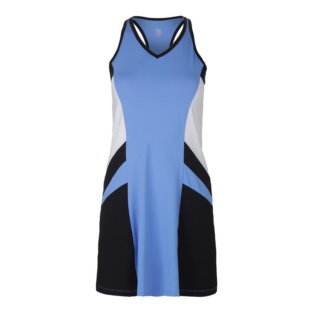 Women's Astoria Tennis Dress Hyacinth And Black