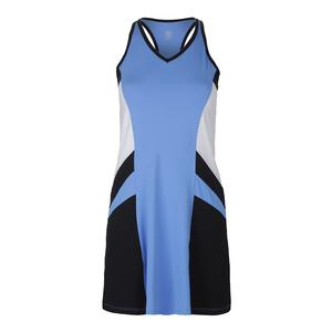 Women`s Astoria Tennis Dress Hyacinth and Black