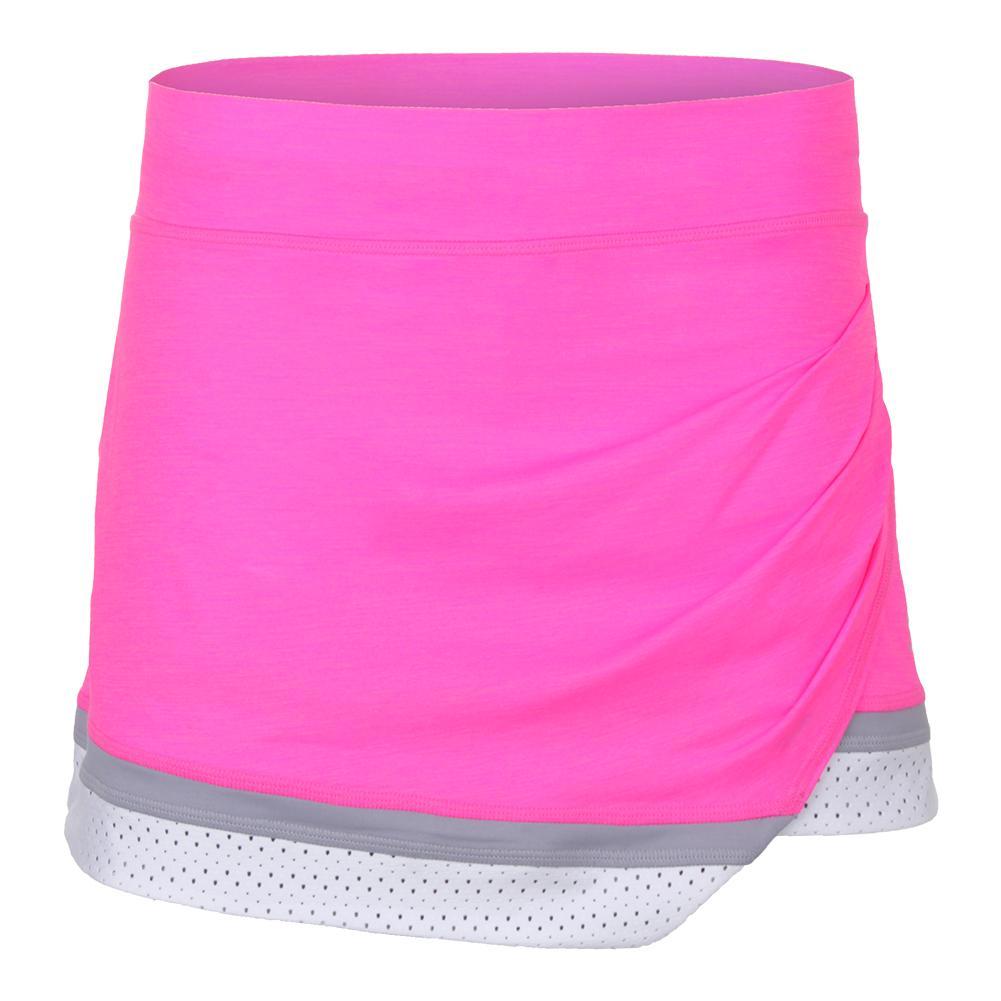 Women's Ace 13 Inch Tennis Skort Melange Pink