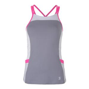 Women`s Pocket Tennis Cami Gray