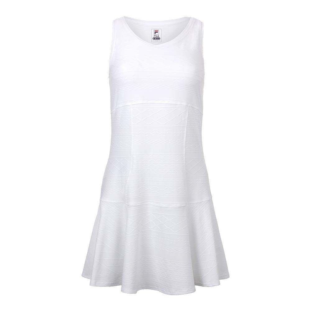 Women's Lawn Tennis Dress White