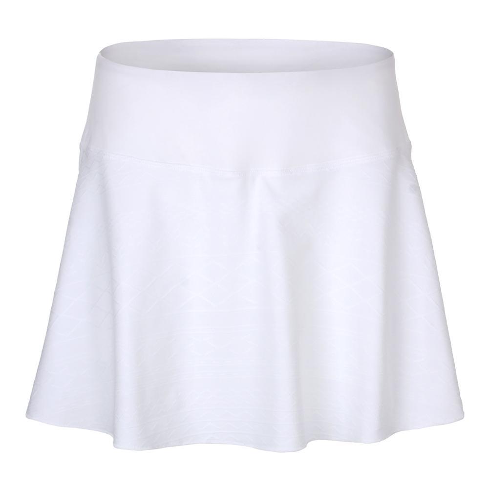 Women's Lawn Flounce 14.5 Inch Tennis Skort White