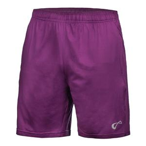 Boys` Hitting Tennis Short Eggplant